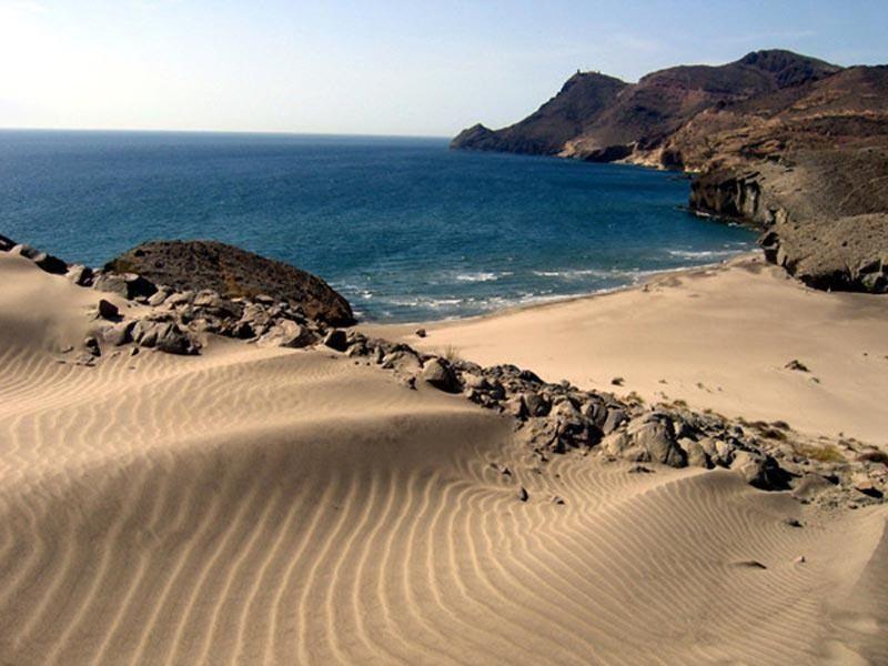 Playa de Monsul, Cabo de Gata, Almería, Spain