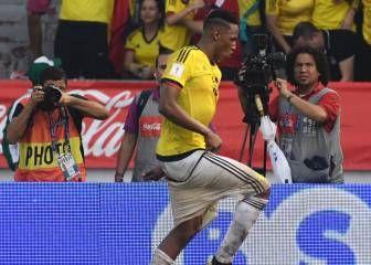 El Mina De Siempre Cabezazo Y Baile En El Metropolitano Fútbol Colombia Seleccion Colombia