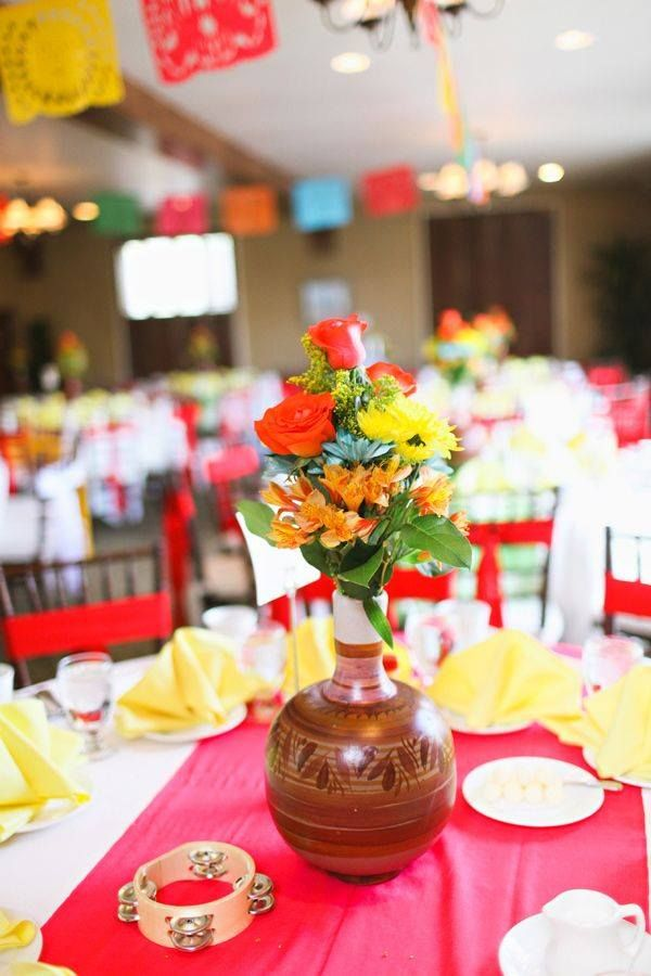 Mexican themed wedding | Tuesday Trending | Pinterest | Mexican ...
