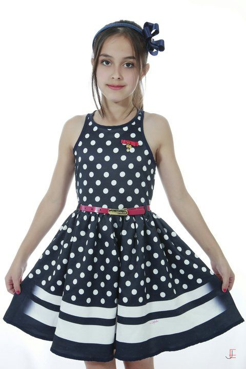 7d6486419d Vestido Infantil Diforini Moda Infanto Juvenil 010780