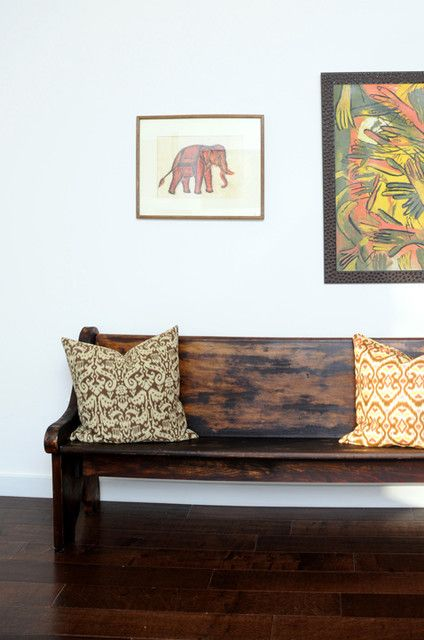 1000+ Images About Benches On Pinterest | Eclectic Living Room