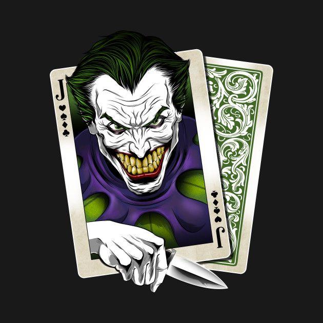 Dangerous Hand T-Shirt - Joker T-Shirt is $14 today at TeePublic!