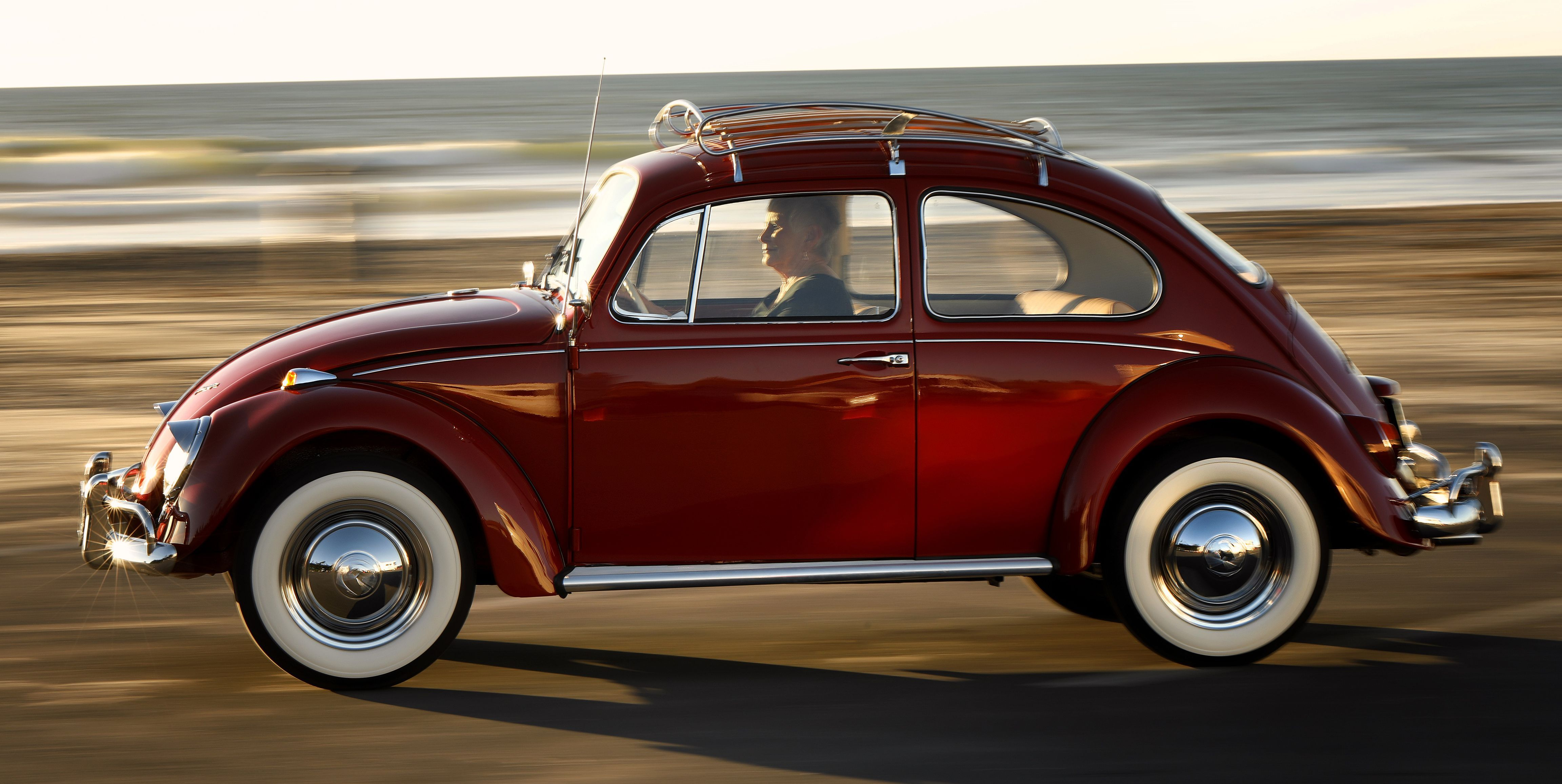 Lucky Owner Gets Her 350,000Mile Beetle Restored by VW