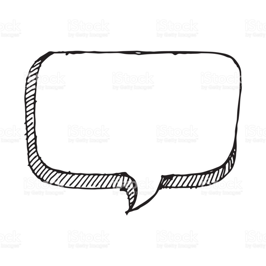 Doodle Speech Bubble Icon Hand Draw How To Draw Hands Speech Bubble Drawing Illustration [ 1024 x 1024 Pixel ]