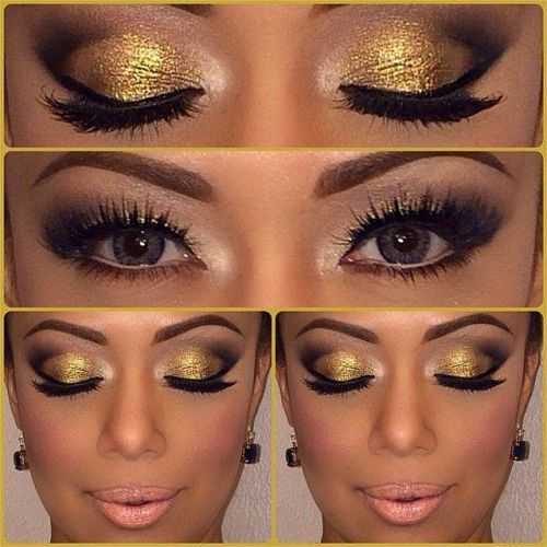 How To Wear Gold Eye Makeup 7 Ideas And Tutorial Videos Gold