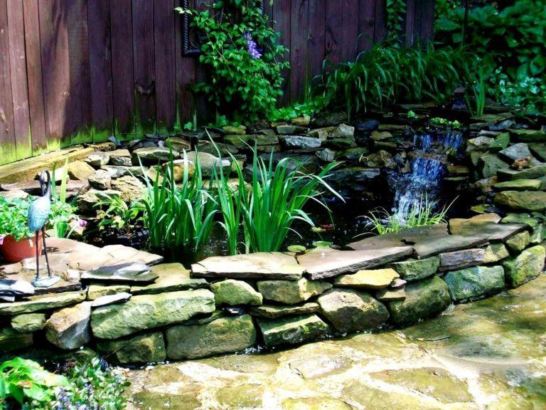 Charming Backyard Fish Pond (с изображениями) | Дизайн ...