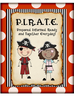 Pirate theme!