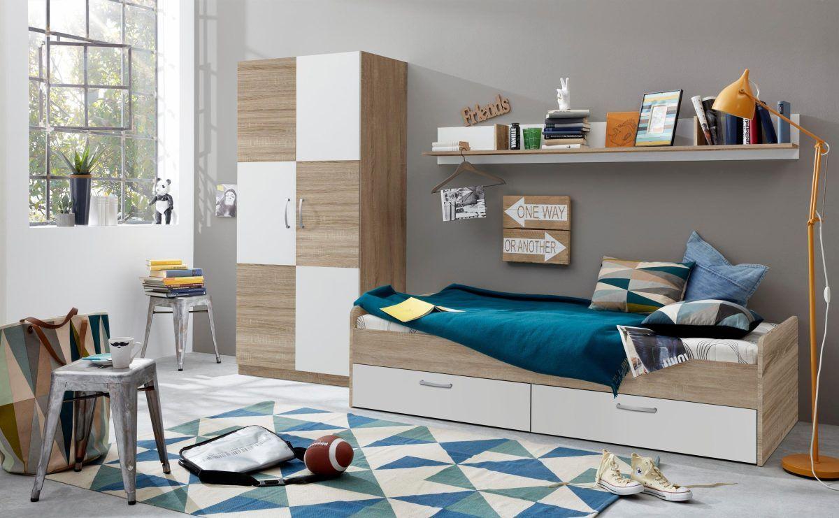 Beeindruckend Kinderzimmer Bett Dekoration Von Kinder-bett »canaria« Weiß, Fsc®-zertifiziert, Yourhome Jetzt Bestellen