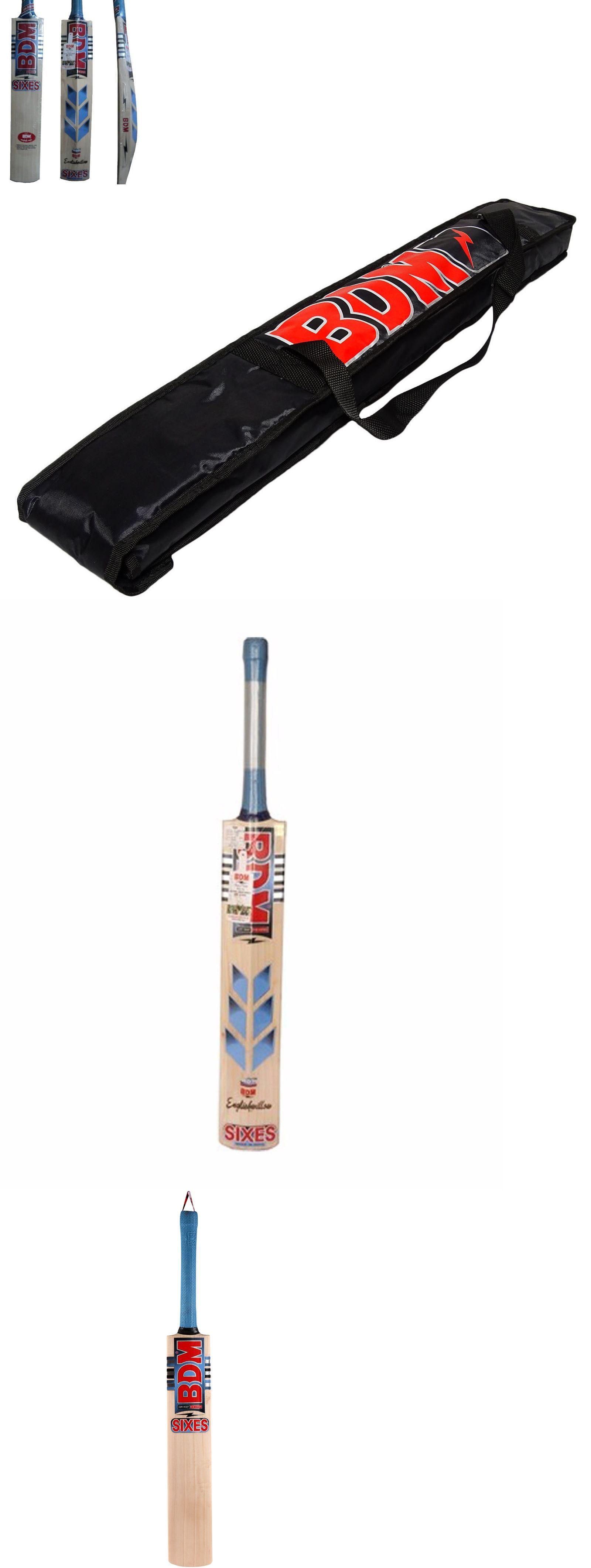 cricket 2906 english willow cricket bat bdm sixes free bat case
