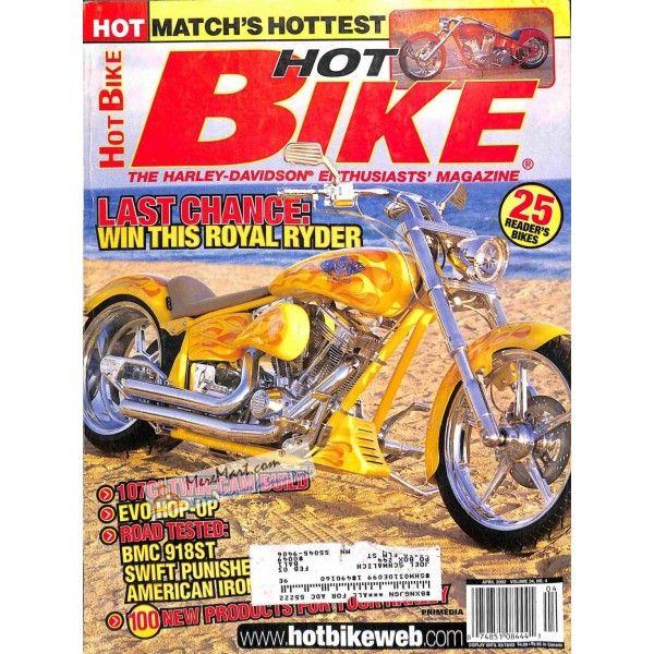 Hot Bike April 2002 Hot Bikes Bike Magazine Bike