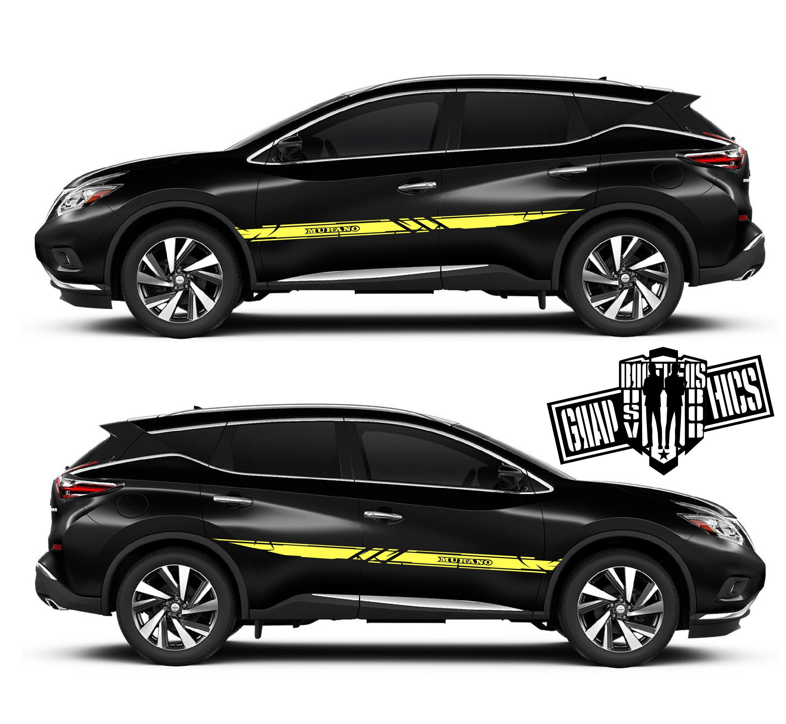 Excited To Share This Item From My Etsy Shop 2x Sport Sticker Decal Side Door Stripes For Nissan Murano Ever Nissan Murano Vinyl Car Stickers Truck Stickers [ 2368 x 2569 Pixel ]