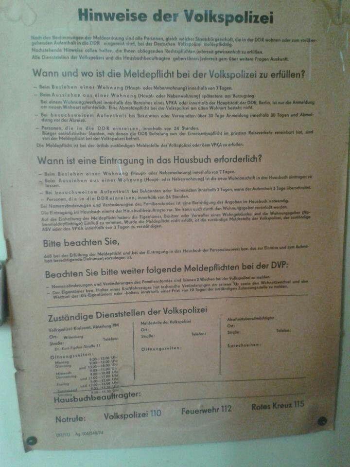 Meldepflicht Berlin