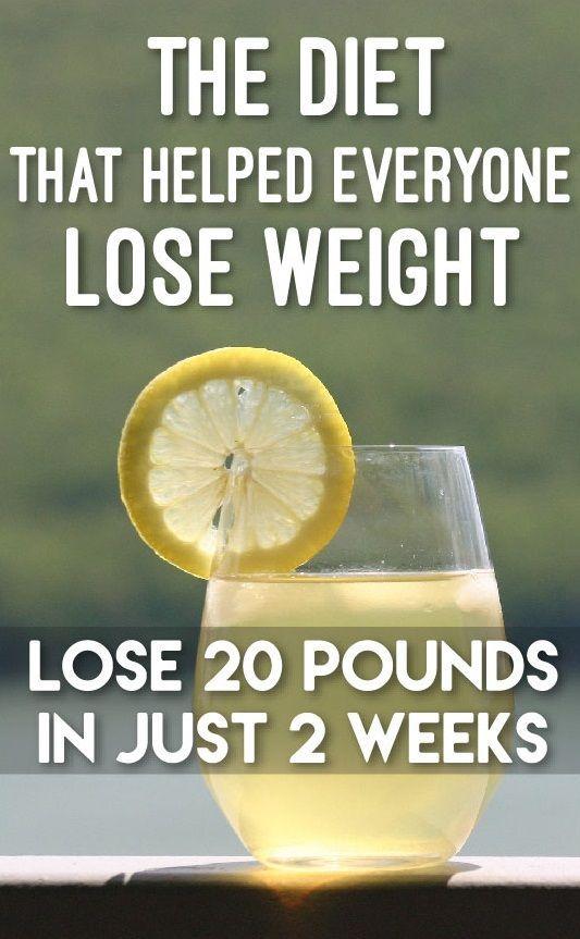 Wie man in einer Woche mit Wasser und Zitrone Gewicht verliert
