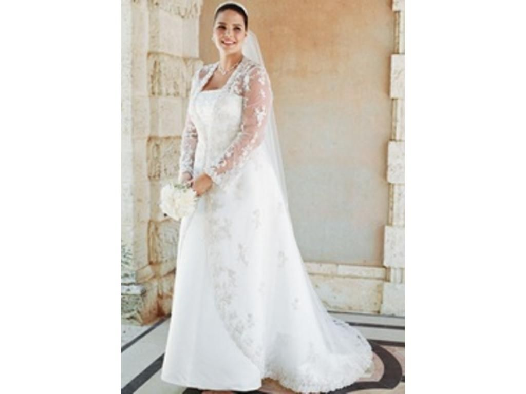 Davids Bridal Plus Size Wedding Dresses Sale – DACC