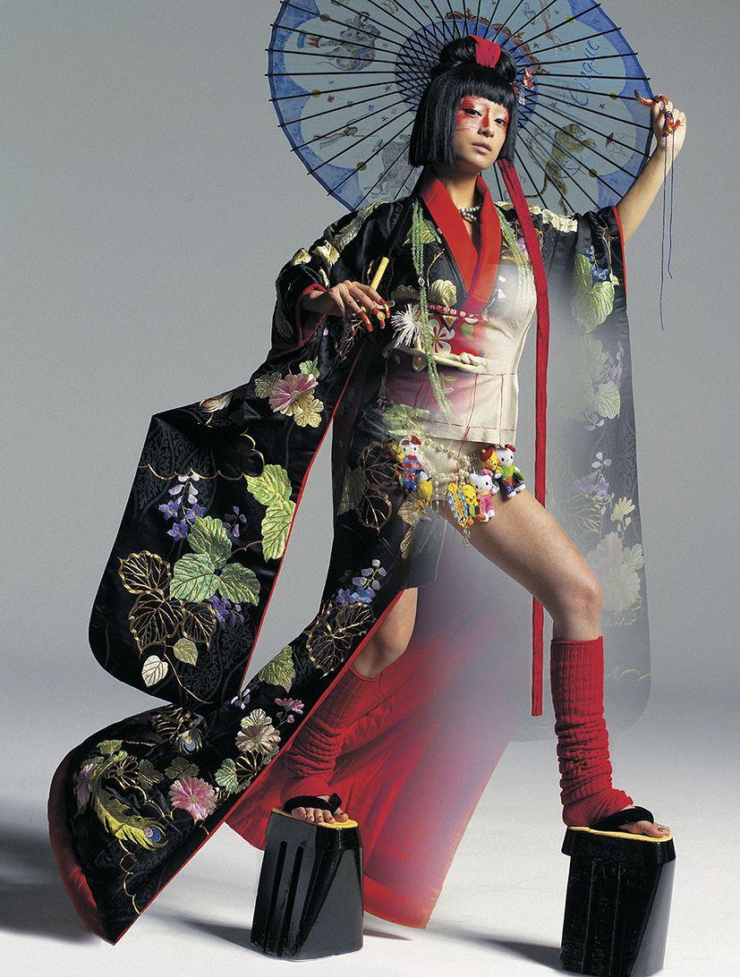 Ayumi Hamasaki Japanese costume