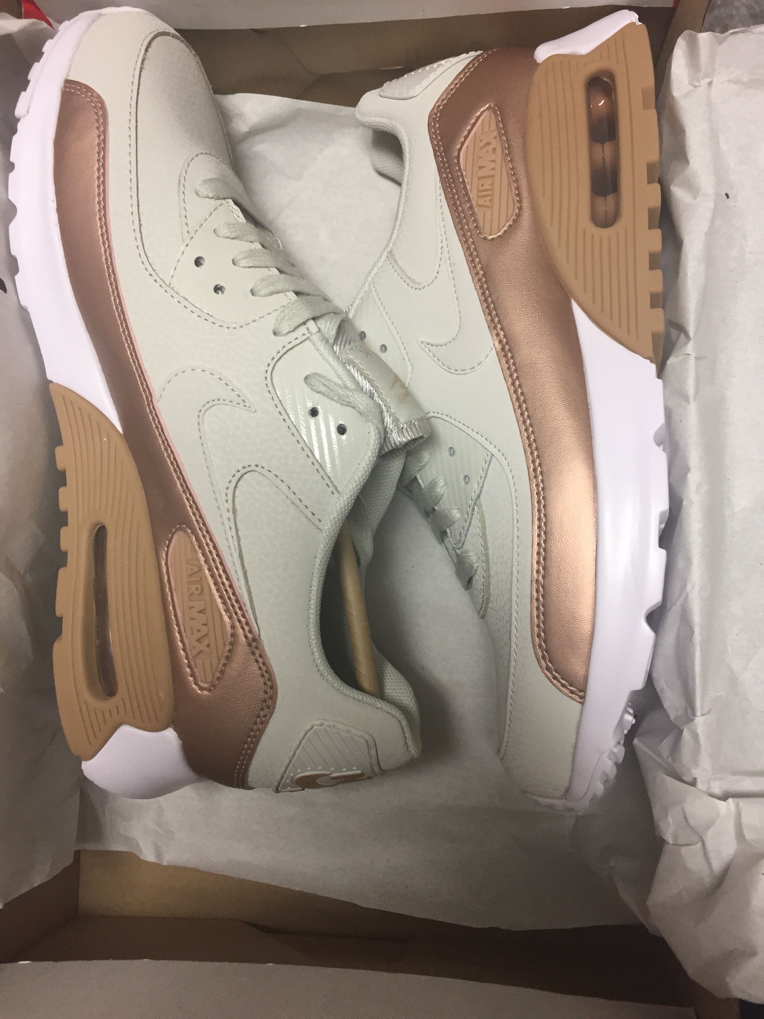 nike air max 90 ultra rose gold