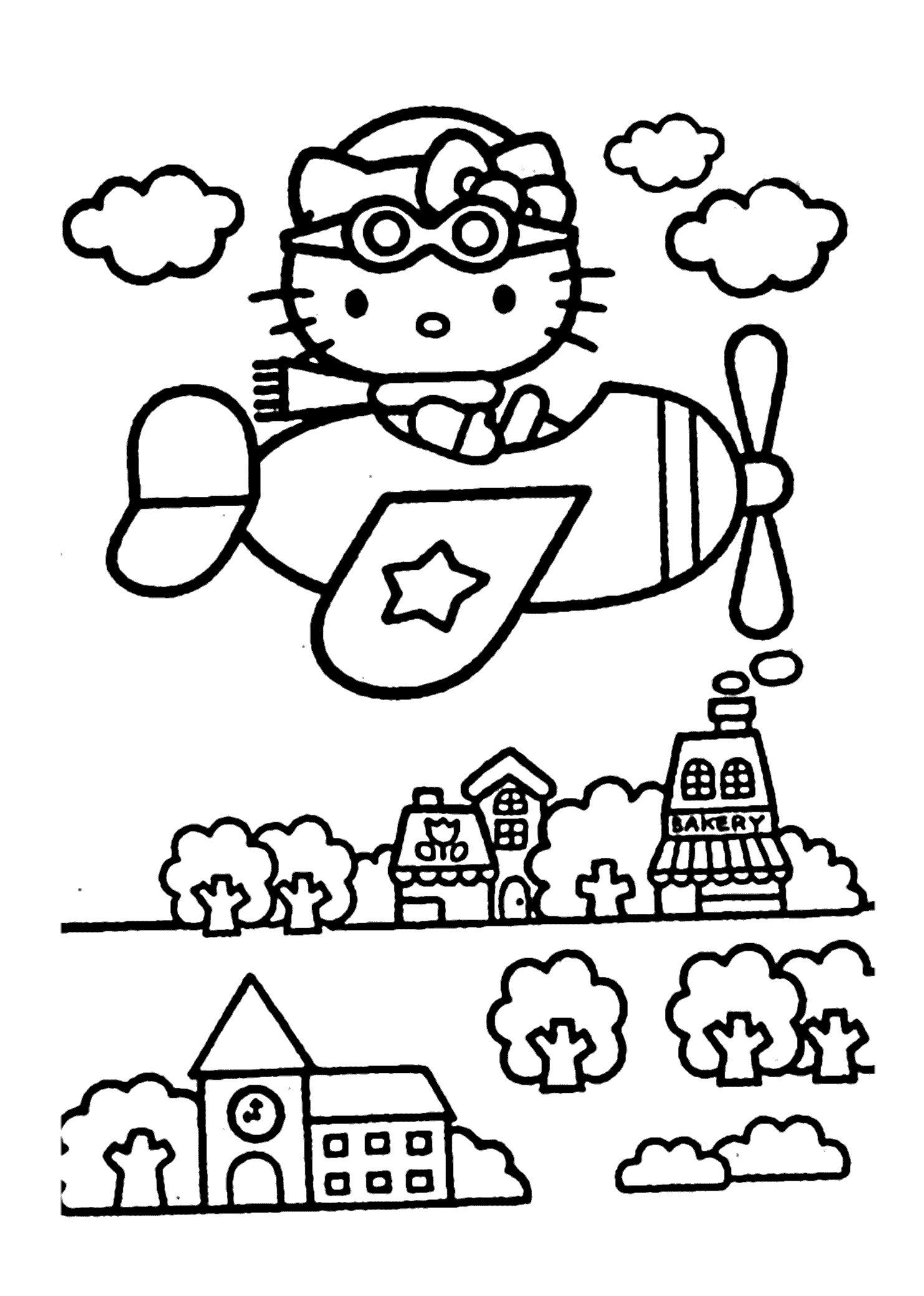10 Awesome How To Colour Hello Kitty