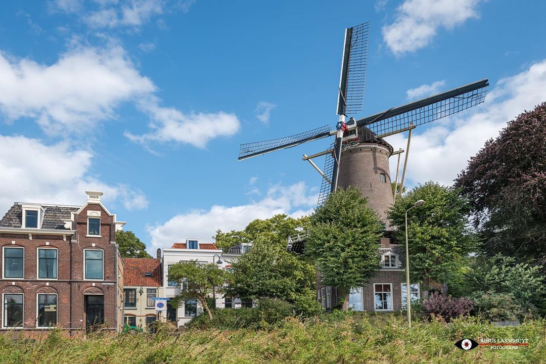 "rinus lasschuyt fotografie on Instagram: ""Molen 't Slot #gouda  #molen #windmill #molentslot #binnenstadgouda  #prachtiggouda #visitgouda #puurgouda  #ig_photooftheday #ig_nederland…"""