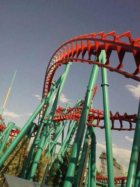 Mind eraser elitch gardens Denver Colorado! Second favorite coaster ...