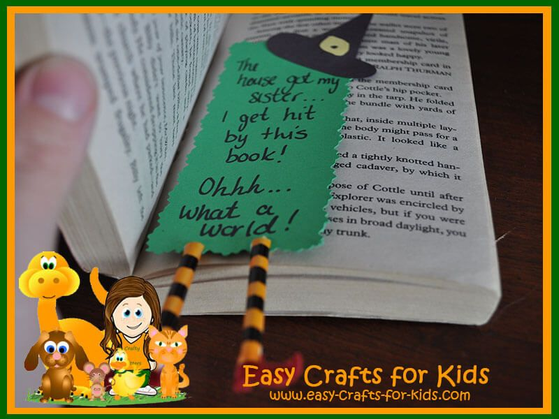 Halloween Crafts Kids crafts Pinterest Witches, Craft and - how to make halloween decorations for kids