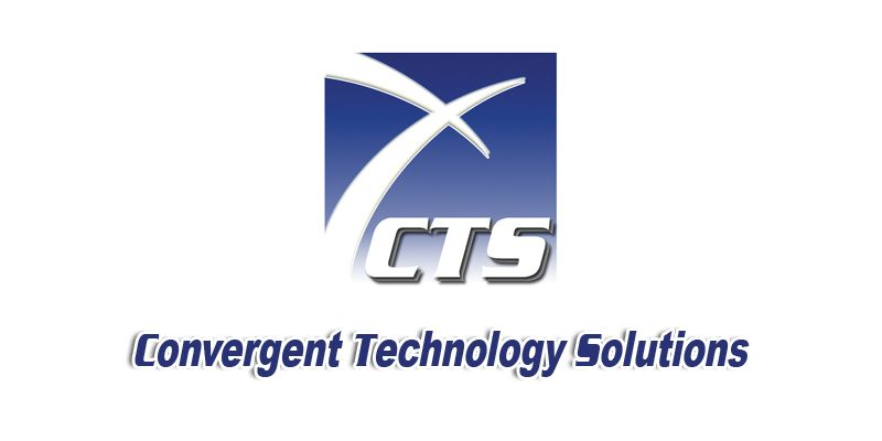 Convergent Technology Solutions Technology Solutions Logo Design Brand Experience