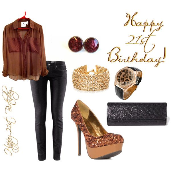 21st Birthday Outfit Choice #2 - Polyvore