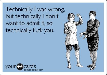 technicallyyyy...