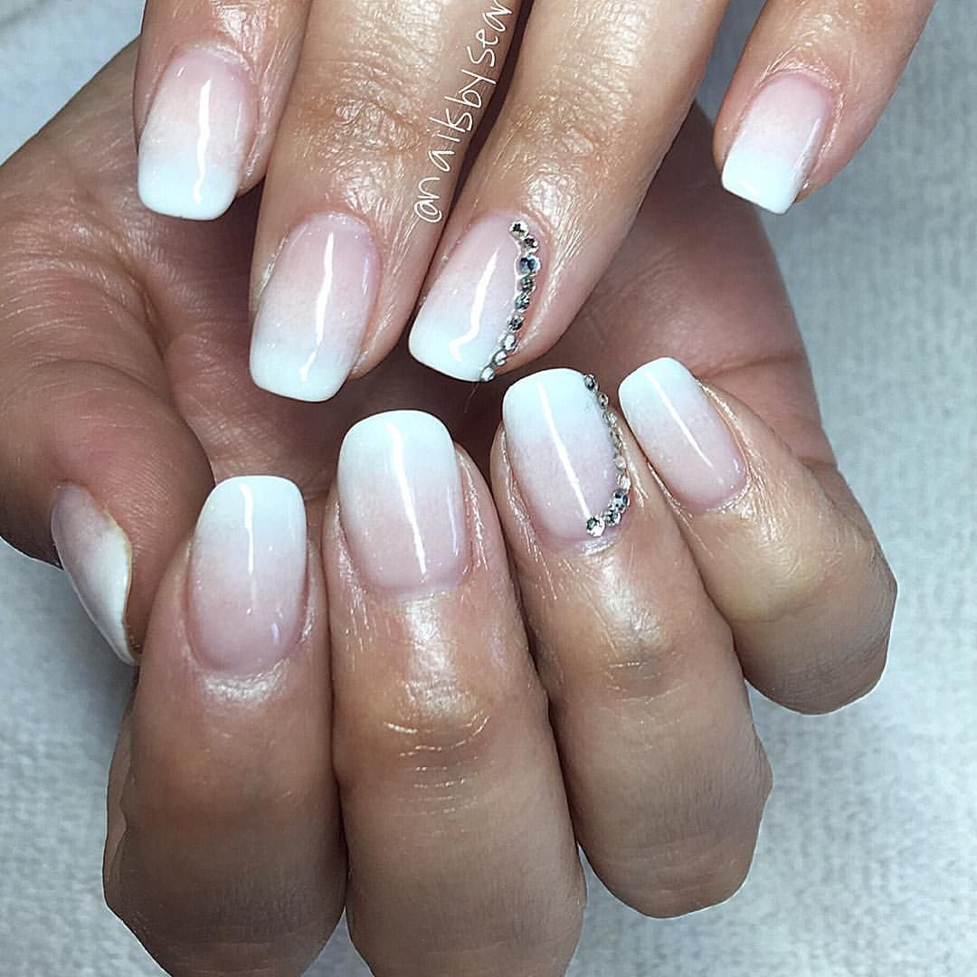 Ombré French by Sean at NG Studio City #mani #manicure #love ...