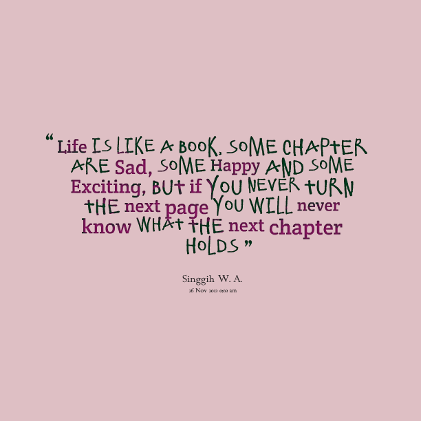 Quotes About Life From Books. QuotesGram