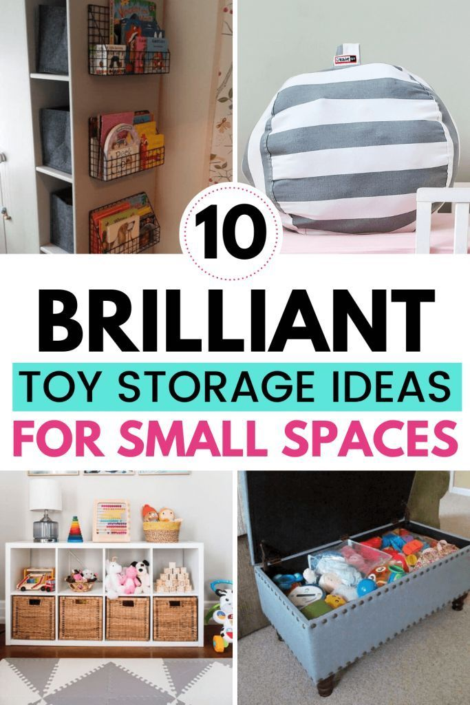 Toy Storage Ideas For Small Spaces In 2020 Toy Storage Storage