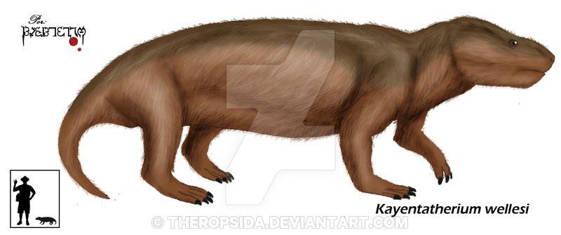 """Результат пошуку зображень за запитом """"Kayentatherium wellesi"""""""