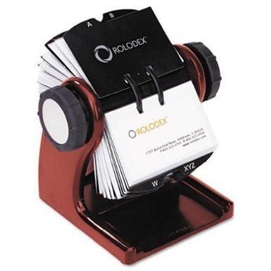 Robot Check Rolodex Card Files Business Card Holders