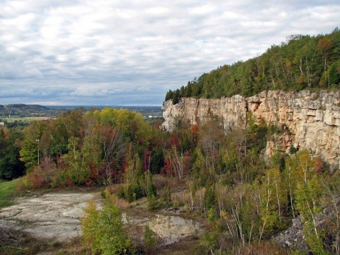 Niagara Escarpment Wisconsin Map.These 13 Epic Hiking Spots In Wisconsin Are Totally Out Of This