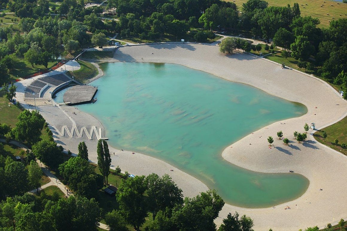 Bundek Lake is a great place in Zagreb to relax at the