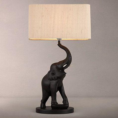 David Hunt Tantor Elephant Table Lamp Elephant Table Lamp Elephant Lamp Elephant Table