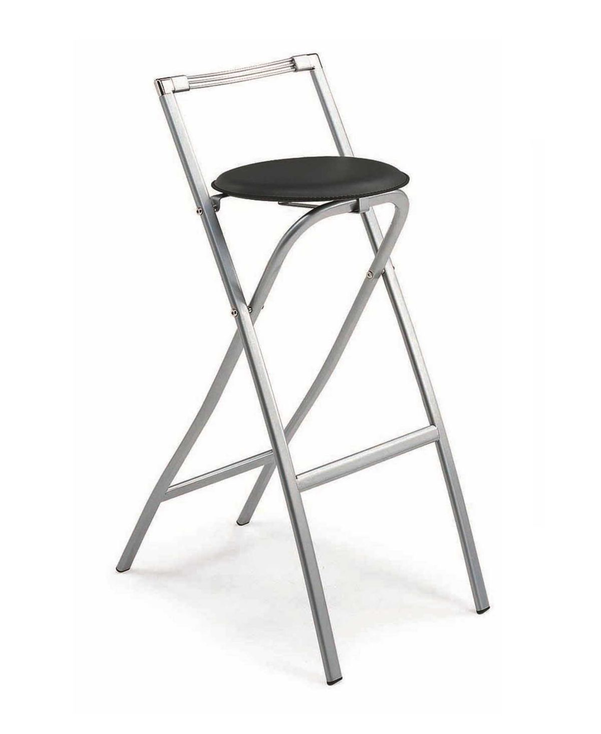 - New Spec Inc Folding Bar Stools In Leatherette Seat & Reviews