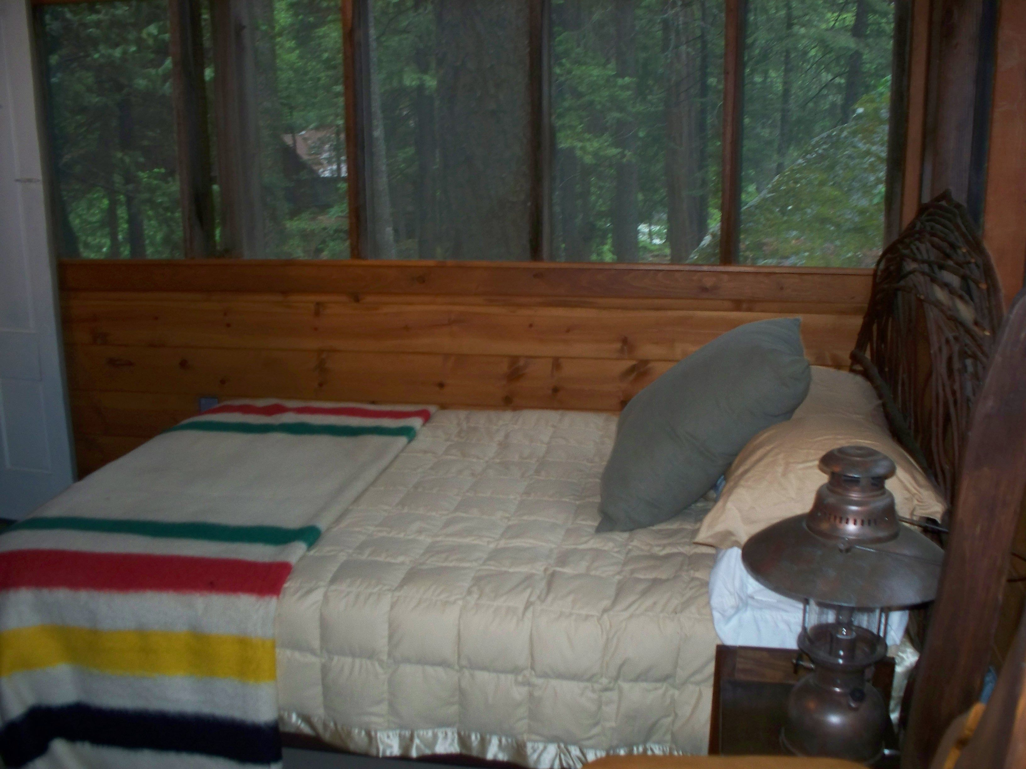 Restored Sleeping Porch (one Of Three) At Our Family Cabin In El Dorado  National Forest, California.
