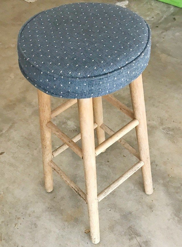 Super How To Turn A Stool Into A Side Table Furniture Makeovers Machost Co Dining Chair Design Ideas Machostcouk
