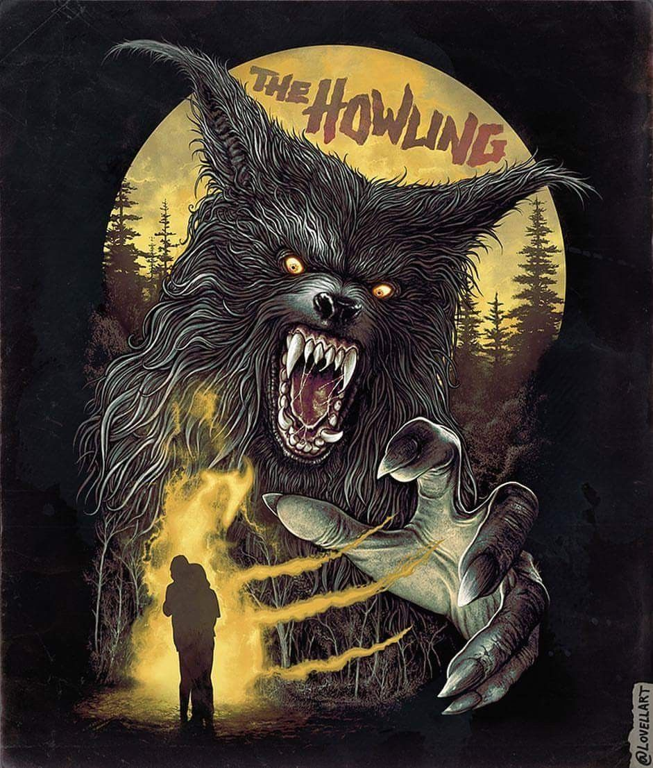 Horror Movie Poster Art : The Howling 1981 by Christopher ...