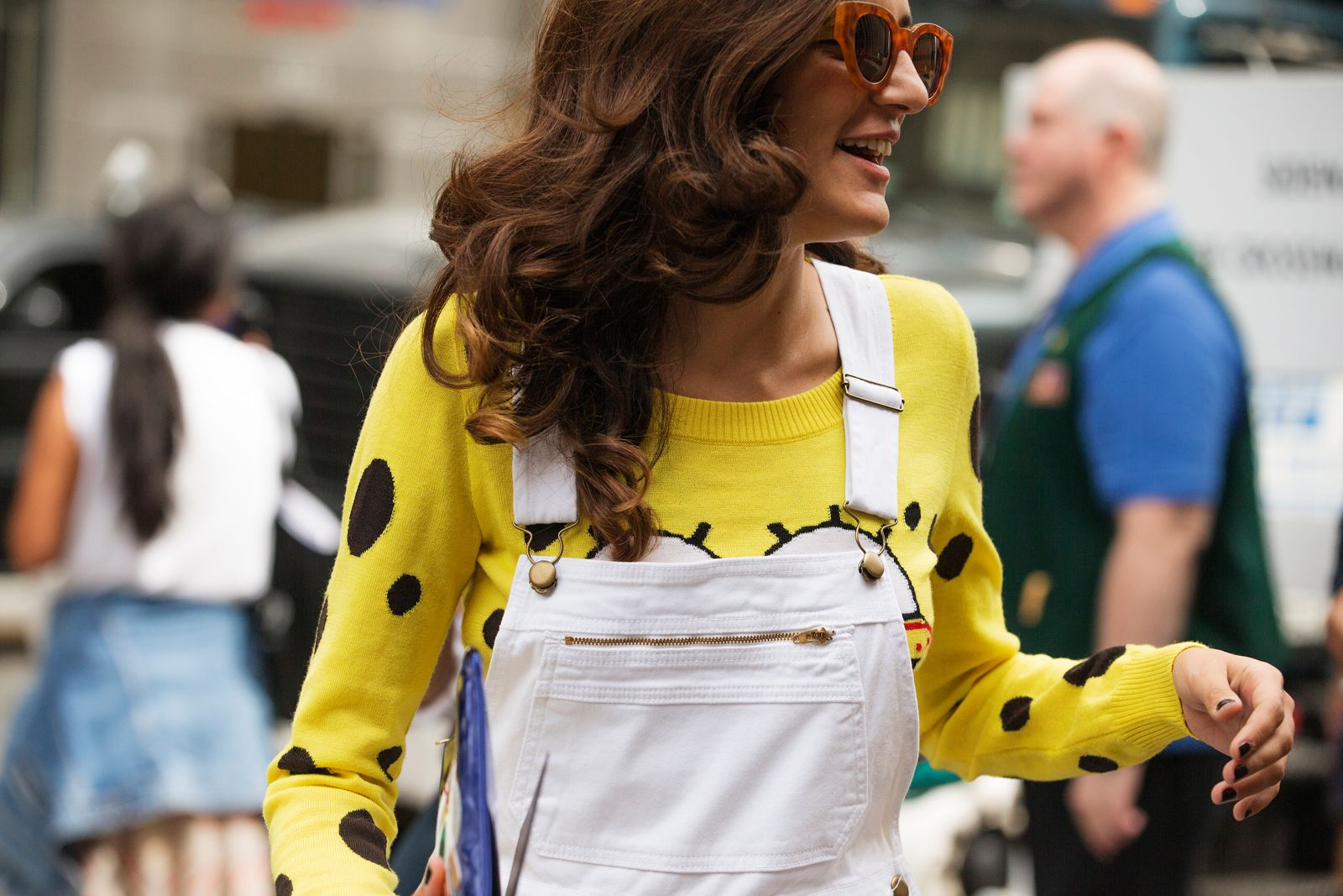 The NYFW Street Style Looks That Truly Stunned #refinery29  http://www.refinery29.com/2014/09/73987/new-york-fashion-week-2014-street-style-photos#slide51  Spongebob, undercover.
