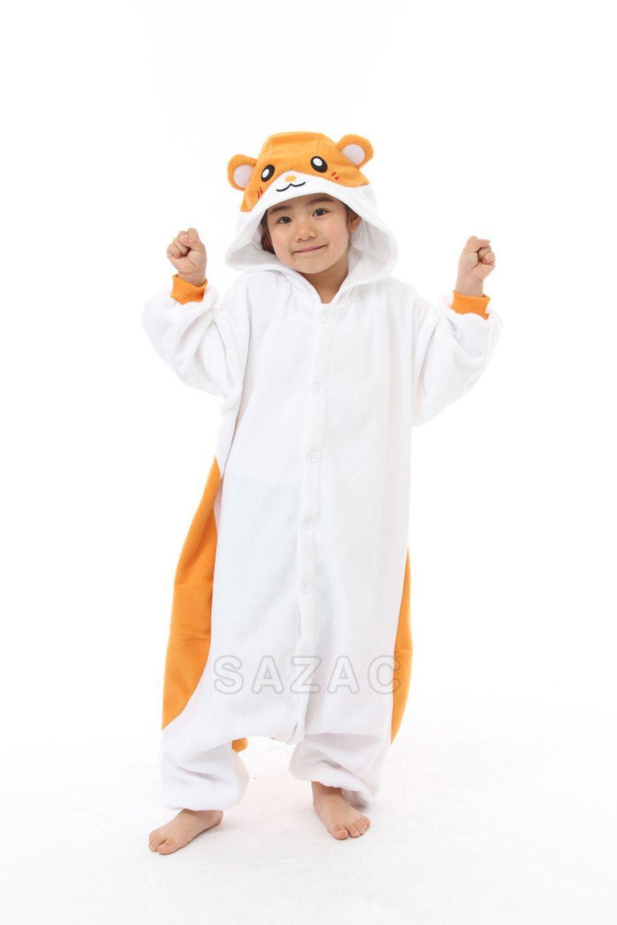 a5c86d9ccf89 Kids Hamster Kigurumi Onesie