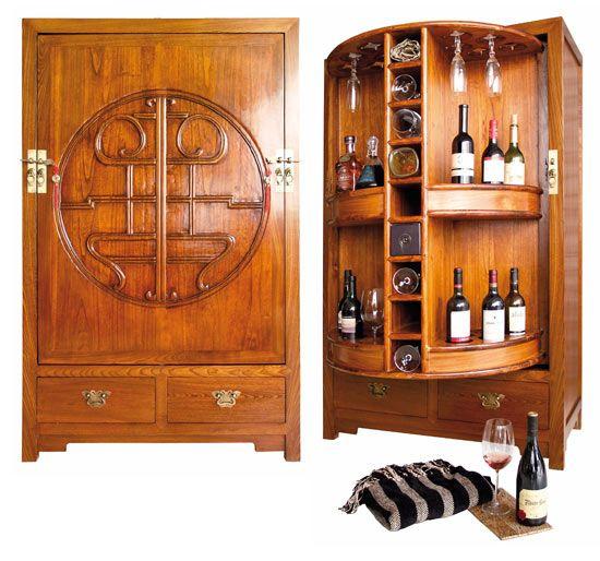 mueble bar de estilo oriental  Barito salacomedor