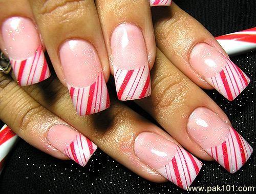 Nail art gallery candy cane tip nail art nail art pinterest nail art gallery candy cane tip nail art prinsesfo Gallery