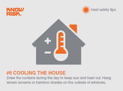 Heatwave Safety Tip No 6 Draw The Curtains During The Day To