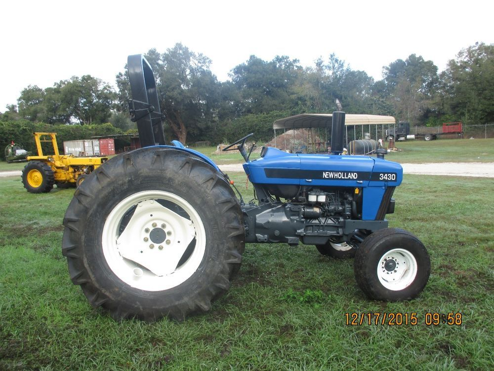 New Holland 3430 Tractor Trekker