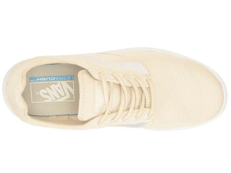 0af2f399d82 Vans ISO 1.5 Skate Shoes (Mesh) Birch True White