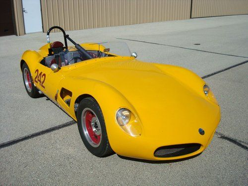 "1957 ELVA Climax MKII Roadster ""Sebring Model"" Race Car"