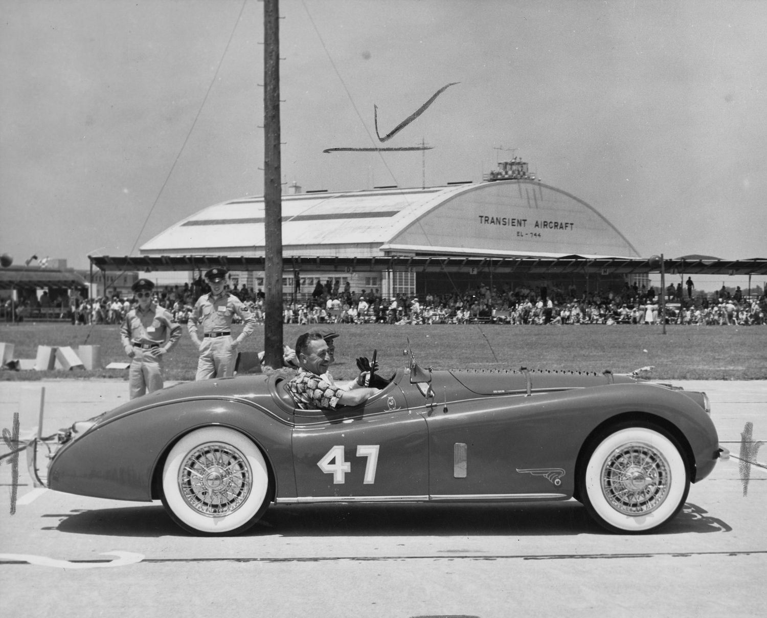 One of the last of the AFB races Lockbourne, 1953