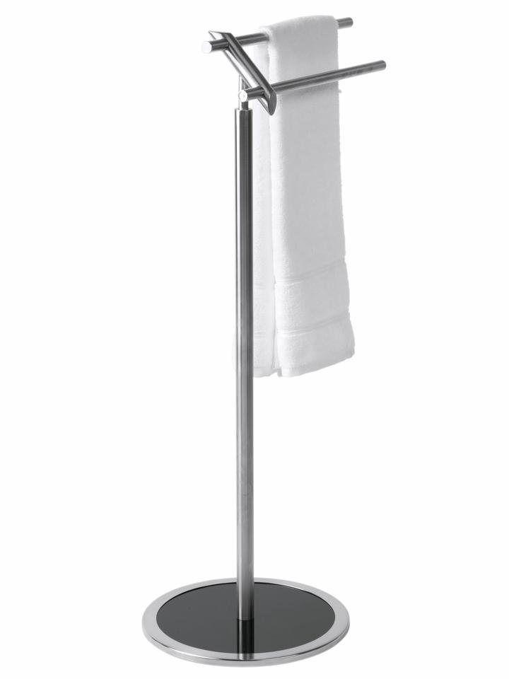 heine home Handtuchhalter mit zwei Handtuchstangen Aus