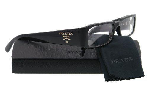 Prada Eyeglasses VPR 22M BLACK 1AB-101 VPR22M « Impulse Clothes
